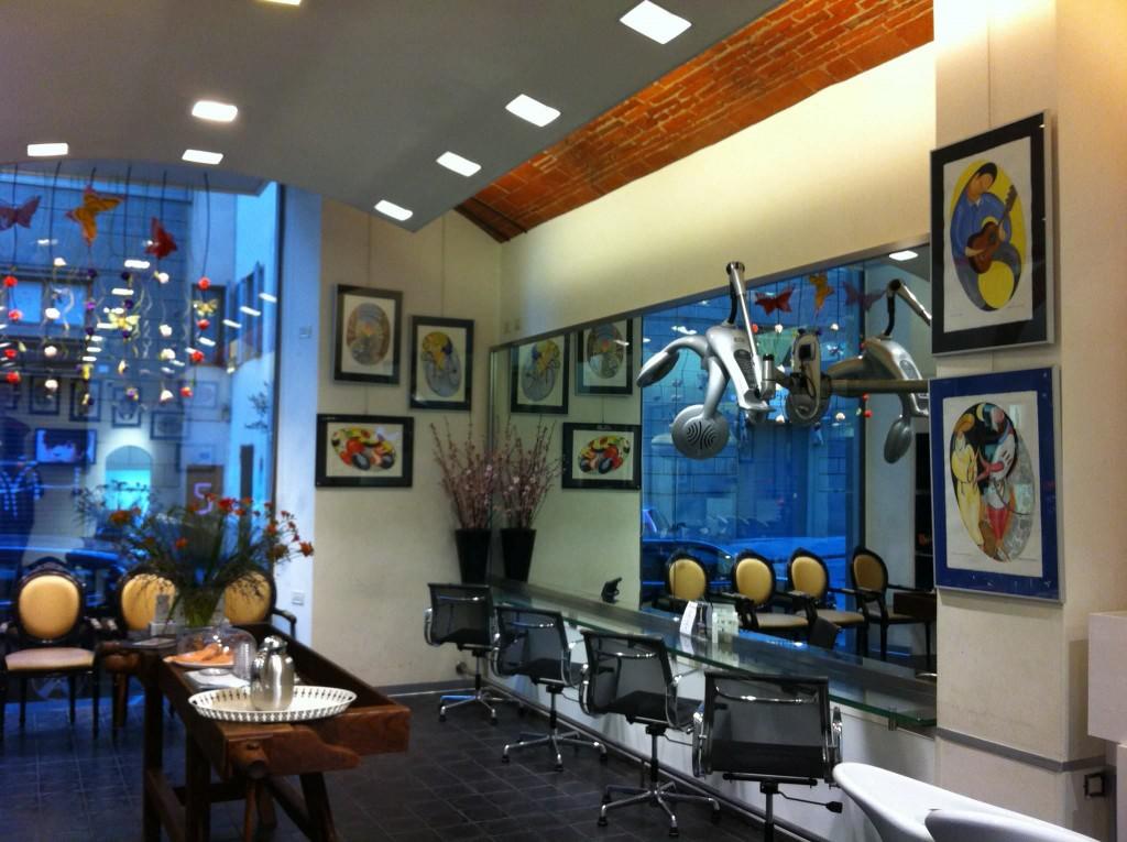 interni del salone di renato coiffure