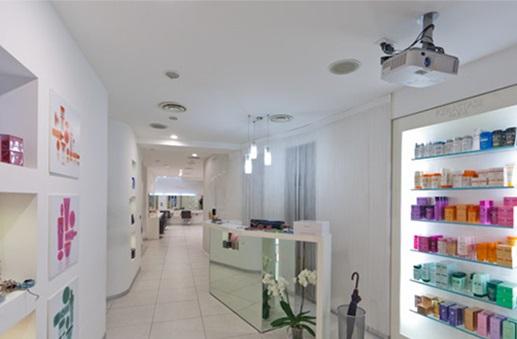 foto salone Melarancio parrucchieri hair & beauty Bologna