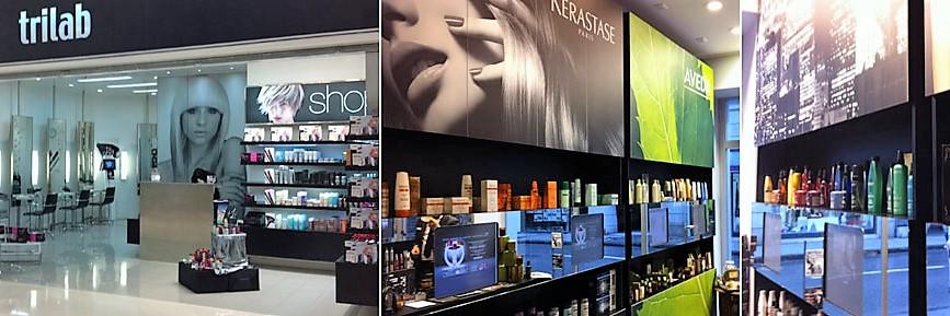 foto salone Trilab Parrucchieri hair & beauty mestre